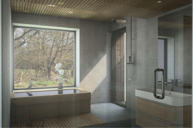 salle de bain esquisse